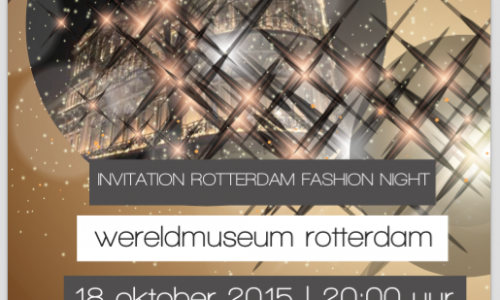 Rotterdam fashion night, Holland 2015